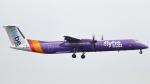 誘喜さんが、ロンドン・ヒースロー空港で撮影したフライビー DHC-8-402Q Dash 8の航空フォト(写真)