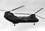 チャーリーマイクさんが、嘉手納飛行場で撮影したアメリカ海兵隊 CH-46Dの航空フォト(写真)