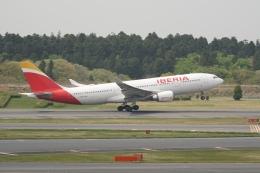 pringlesさんが、成田国際空港で撮影したイベリア航空 A330-202の航空フォト(写真)