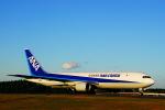 柴犬787さんが、成田国際空港で撮影した全日空 767-381Fの航空フォト(写真)