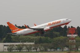 pringlesさんが、成田国際空港で撮影したチェジュ航空 737-8ASの航空フォト(写真)