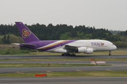 pringlesさんが、成田国際空港で撮影したタイ国際航空 A380-841の航空フォト(写真)