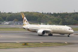 pringlesさんが、成田国際空港で撮影したエティハド航空 787-9の航空フォト(写真)