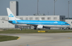 セブンさんが、ミュンヘン・フランツヨーゼフシュトラウス空港で撮影したKLMオランダ航空 737-9K2の航空フォト(写真)