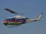 チャーリーマイクさんが、東京ヘリポートで撮影した国土交通省 地方整備局 214STの航空フォト(写真)