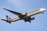Dream Skyさんが、羽田空港で撮影したシンガポール航空 777-312/ERの航空フォト(写真)