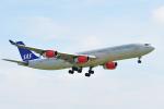 saoya_saodakeさんが、成田国際空港で撮影したスカンジナビア航空 A340-313Xの航空フォト(写真)