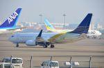 ちかぼーさんが、羽田空港で撮影したロイヤル・ジェット 737-7Z5 BBJの航空フォト(写真)