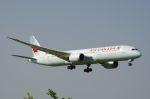 xiel0525さんが、成田国際空港で撮影したエア・カナダ 787-9の航空フォト(写真)