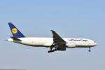 タマさんが、成田国際空港で撮影したルフトハンザ・カーゴ 777-FBTの航空フォト(写真)