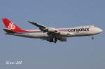 RINA-200さんが、小松空港で撮影したカーゴルクス 747-8R7F/SCDの航空フォト(写真)