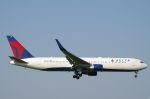 xiel0525さんが、成田国際空港で撮影したデルタ航空 767-332/ERの航空フォト(写真)