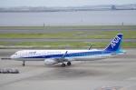 xiel0525さんが、羽田空港で撮影した全日空 A321-211の航空フォト(写真)