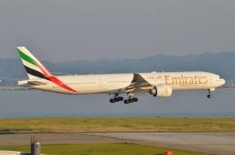 amagoさんが、関西国際空港で撮影したエミレーツ航空 777-36N/ERの航空フォト(写真)