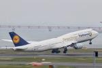 すかいぶるー✈︎さんが、羽田空港で撮影したルフトハンザドイツ航空 747-830の航空フォト(写真)