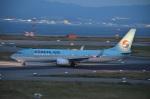 空が大好き!さんが、関西国際空港で撮影した大韓航空 737-8LHの航空フォト(写真)
