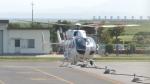 誘喜さんが、出雲空港で撮影したセントラルヘリコプターサービス BK117C-2の航空フォト(写真)