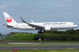 Tomo-Papaさんが、成田国際空港で撮影した日本航空 767-346/ERの航空フォト(写真)