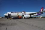 JRF spotterさんが、ホノルル国際空港で撮影したハワイアン航空 A330-243の航空フォト(写真)