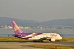うめたろうさんが、関西国際空港で撮影したタイ国際航空 A380-841の航空フォト(写真)