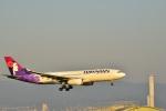 うめたろうさんが、関西国際空港で撮影したハワイアン航空 A330-243の航空フォト(写真)