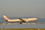 うめたろうさんが、関西国際空港で撮影したチャイナエアライン A330-302の航空フォト(写真)