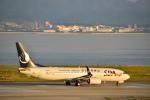 うめたろうさんが、関西国際空港で撮影した山東航空 737-85Nの航空フォト(写真)