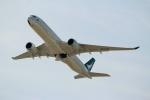 ハピネスさんが、関西国際空港で撮影したキャセイパシフィック航空 A350-941XWBの航空フォト(写真)