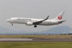 ぽんさんが、高松空港で撮影したJALエクスプレス 737-846の航空フォト(写真)