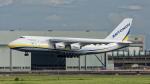 2wmさんが、台湾桃園国際空港で撮影したアントノフ・エアラインズ An-124-100 Ruslanの航空フォト(写真)