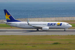 PASSENGERさんが、神戸空港で撮影したスカイマーク 737-82Yの航空フォト(写真)