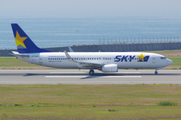 PASSENGERさんが、神戸空港で撮影したスカイマーク 737-8FZの航空フォト(写真)