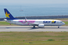 PASSENGERさんが、神戸空港で撮影したスカイマーク 737-86Nの航空フォト(写真)