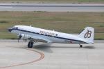 SIさんが、神戸空港で撮影したスーパーコンステレーション飛行協会 DC-3Aの航空フォト(写真)
