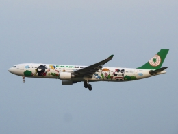 aquaさんが、小松空港で撮影したエバー航空 A330-302Xの航空フォト(写真)