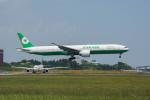 ポン太さんが、成田国際空港で撮影したエバー航空 777-35E/ERの航空フォト(写真)