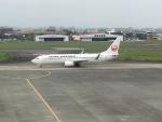 充雅さんが、宮崎空港で撮影した日本航空 737-846の航空フォト(写真)