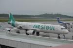東亜国内航空さんが、長崎空港で撮影したエアソウル A321-231の航空フォト(写真)