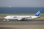 HideMasa-Okaさんが、羽田空港で撮影した全日空 767-381/ERの航空フォト(写真)