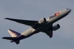 木人さんが、成田国際空港で撮影したフェデックス・エクスプレス 777-FS2の航空フォト(写真)