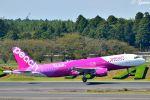 吉田高士さんが、成田国際空港で撮影したピーチ A320-214の航空フォト(写真)