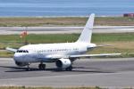 ITM44さんが、関西国際空港で撮影したGCLポリー・エナジー・ホールディングス A318-112 CJ Eliteの航空フォト(写真)