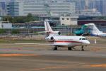 たまさんが、羽田空港で撮影したHONEYWELL AIRCRAFT LEASING LLC Falcon 7Xの航空フォト(写真)