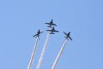 ひこ☆さんが、静浜飛行場で撮影した航空自衛隊 T-4の航空フォト(写真)