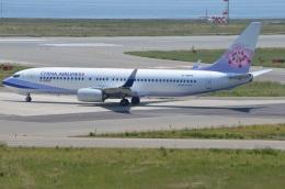 amagoさんが、関西国際空港で撮影したチャイナエアライン 737-8ALの航空フォト(写真)