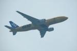 撮り撮り人さんが、岡山空港で撮影した全日空 777-281/ERの航空フォト(写真)