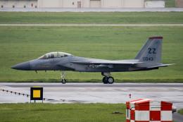 チャッピー・シミズさんが、嘉手納飛行場で撮影したアメリカ空軍 F-15D Eagleの航空フォト(写真)