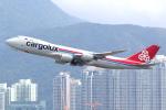 KAW-YGさんが、香港国際空港で撮影したカーゴルクス 747-8R7F/SCDの航空フォト(写真)