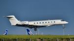 パンダさんが、羽田空港で撮影したウェルズ・ファーゴ・バンク・ノースウェスト G-V-SP Gulfstream G550の航空フォト(写真)