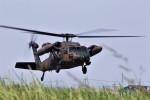 バイクオヤジさんが、静浜飛行場で撮影した陸上自衛隊 UH-60J (S-70A-12)の航空フォト(写真)